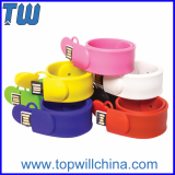 Clap Silicone Bracelet Usb Flash Drive 32GB Wristband Design
