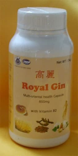 Korea Royal Gin multi-oriental health capsule