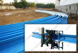 Large span roof roll forming machine