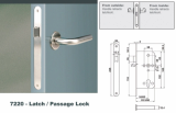 Euro Mortise Lock _ Latch Lock _Passage Lock_