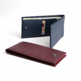 Real Stingray_Python_Alligator Embossed Calf Skin Wallet