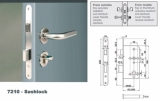 Euro Mortise Lock_Sashlock with Silent Latch _ Anti Truster
