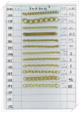 Brass Chains for imitation jewelry -KT87-