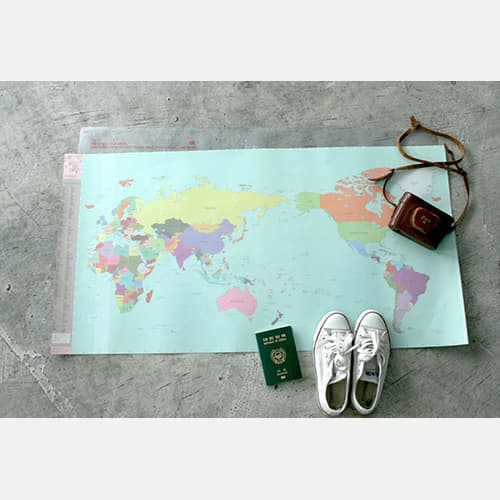 Deco travel world map ver2 from indigo co manufacturers suppliers deco travel world map ver2 gumiabroncs Images