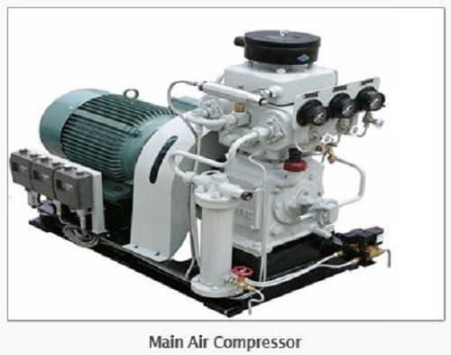 MARINE PARTS AND SHIP PARTS : Main Air Compressor and Parts