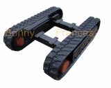 Aerial platform rubber track undercarriage
