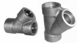 duplex stainless ASTMA182 F60 socket weld tee