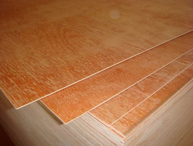 All kinds of wood veneer faced plywood sheets commercial