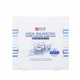 SNP Aqua Balancing Cream Coating Mask