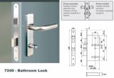 Euro Mortise Lock _ Bathroom Lock