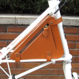 Moulton bicycle bag genuine leather