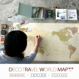 Deco Travel World Map ver2