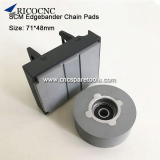 71x48mm Conveyor Chain Pads for SCM Edgebanding Machine