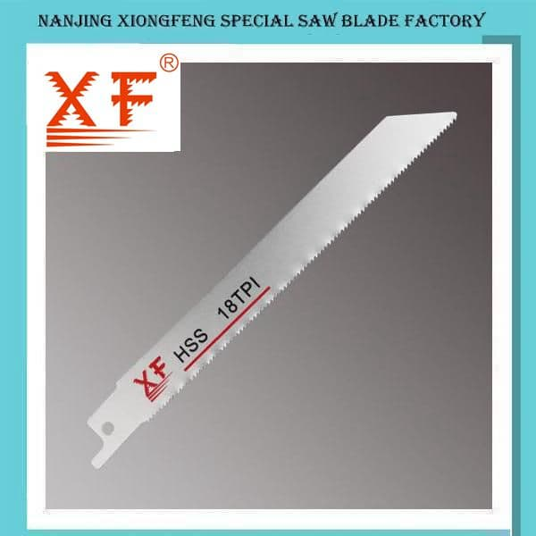 HSS Sabre Saw Blades for Cutting Metal
