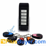 Wireless Key Finder Set (1 Transmitter + 5 Receivers, 20 Meters)