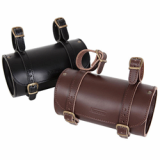 Bicycle bag saddle bag handlebar bag leather