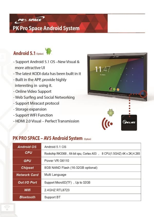 Interactive Board_PK prospace LED board N series