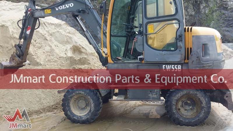 Volvo Excavator EW55B | tradekorea