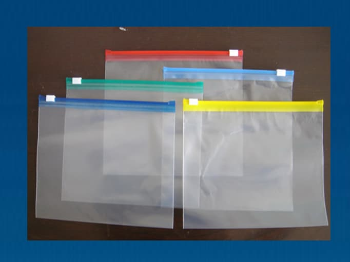 Ldpe Slider Zipper Bags Zip Lock Bag Reclosable Bag