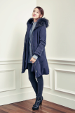 Korea fashion brand CHATELAINE winter coat_ pullover_ pants