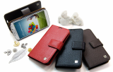 FOR SAMSUNG GALAXY S4 LEATHER CASE AND FOR SAMSUNG GALAXY S4 LUXURY LEATHER ATTENTION CASE