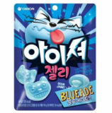 Orion Sour Jelly with Soft filling Blueade flavor Orion gumm