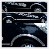 Grand Starex Chrome Fender Molding Set