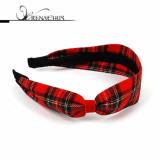 Check Ribbon headband / hairband