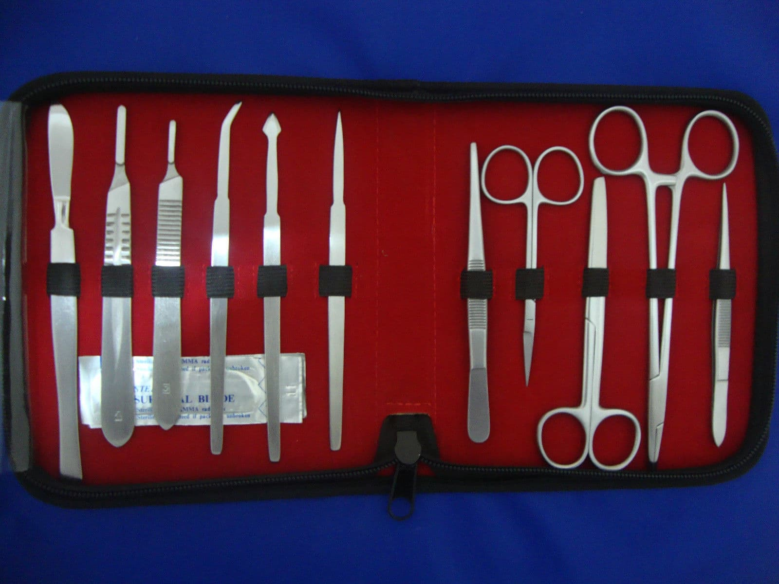 DISSECTING MEDICAL STUDENT KIT ANATOMY BIOLOGY STAINLESS from ...