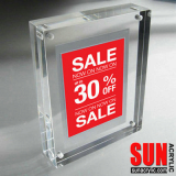 Magnetic Acrylic Photo Block
