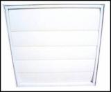 Plastic, aluminum, FRP (fiber reinforcing plastic) shutter