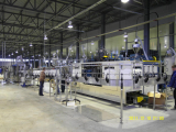 BLOW MOULDING MACHINE FOR EXTR-LIGHT WEIGHT BOTTLES