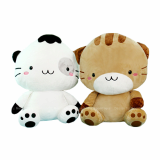 Big size cute cat plush toy