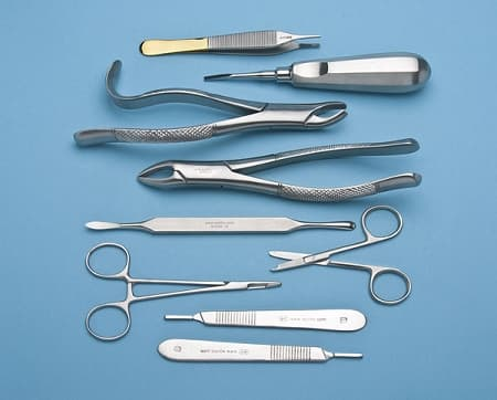 DISSECTING MEDICAL STUDENT KIT ANATOMY BIOLOGY STAINLESS