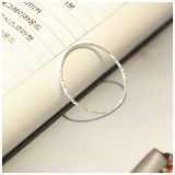 Glossy line thin Ring_Sliver925_