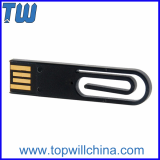 Office Clip Plastic Free Logo Printing 1GB Flash Drive