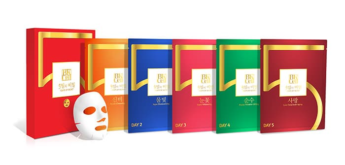 5 Days of Secret II -Facial Masks-