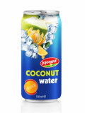 Orange Flavour With Coconut Water In Aluminium Can