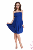 Maternity dress Marylin cobalt blue