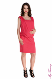 Maternity dress Lucy coral