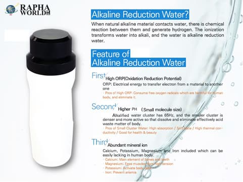 Portable Alkaline Bottle