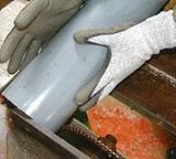 PU Palm Coated HPPE Fiber 'Salt & Pepper' GLoves
