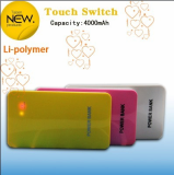 4000mAh White Portable Battery Power Banks (BUB36)
