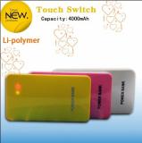 4000mAh White Portable Battery Power Banks (BUB36)