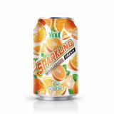 330ml VINUT Canned Orange Juice Sparkling water