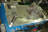 Auto part engine cover plastic injection mold