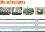 Ti and Ti alloy bars, plates, pipes, tubes, heat exchangers tubes,  Ti(GR.5, Gr.2) screws