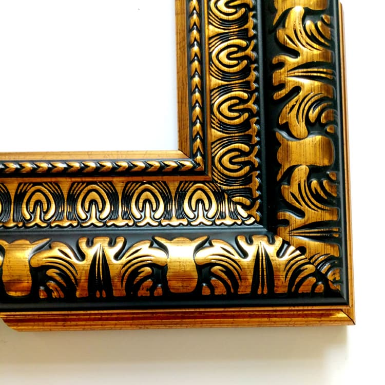 Plastic Photo Polystyrene Ornate Picture Frame Moulding from HUALUN ...