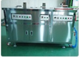Ultrasonic cleaning system _ Water Soluble Multi tank type