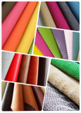 PVC artificial leathers in stock